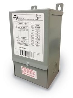 Buck and Boost Single Phase , 750 VA, 120/240V-12/24, 50/60Hz, CU NEMA-3R, 80 C  5.00
